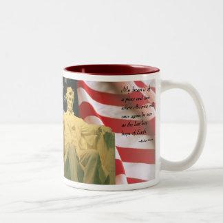 Taza de la cita de Abraham Lincoln