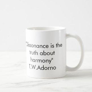 Taza de la cita de Adorno