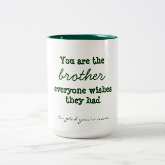 Taza de la cita de Brother