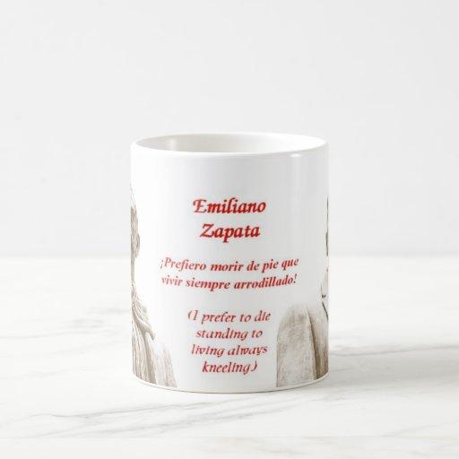 Taza de la cita de Emiliano Zapata