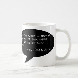 Taza de la cita de Groucho Marx