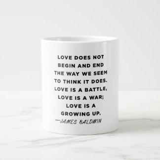 Taza de la cita de James Baldwin