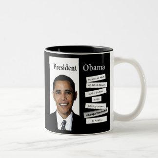 Taza de la cita de Obama - 5 de 6