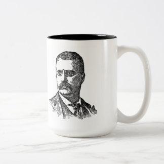 Taza de la cita de Teddy Roosevelt