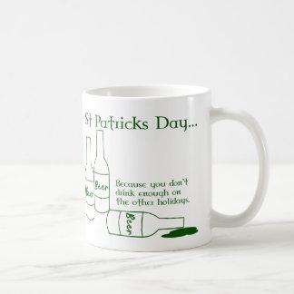 Taza de la cita del día de St Patrick divertido