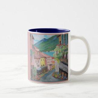 Taza de la ciudad de Bellagio