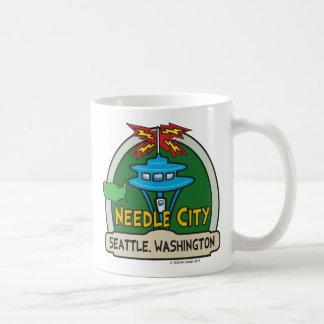 Taza de la ciudad de la aguja