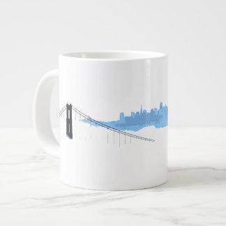 Taza de la ciudad de la niebla (San Francisco) Taza Grande