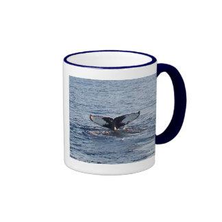 Taza de la cola de la ballena