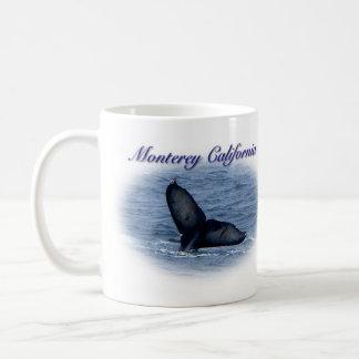 Taza de la cola de la ballena de Monterey