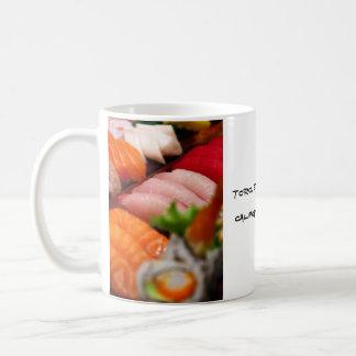 Taza de la colección del sushi de Japón