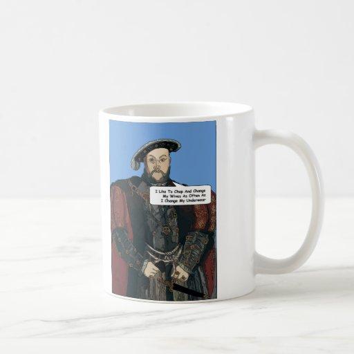Taza de la comedia del rey Enrique VIII