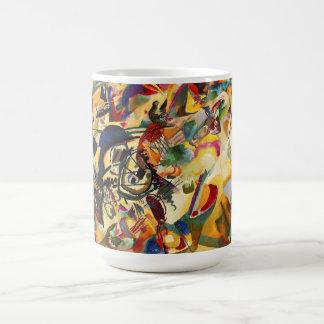 Taza de la composición VII de Kandinsky