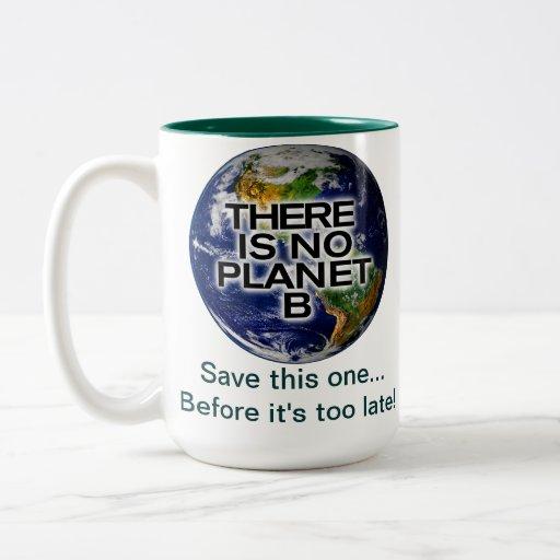 Taza de la conciencia ambiental del planeta B