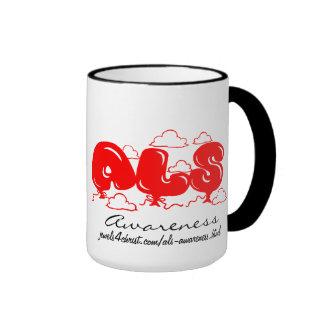 Taza de la conciencia del ALS