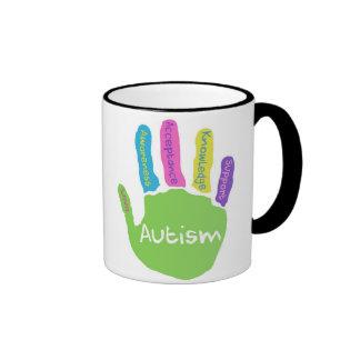 Taza de la conciencia del autismo