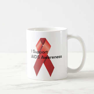 Taza de la conciencia del SIDA