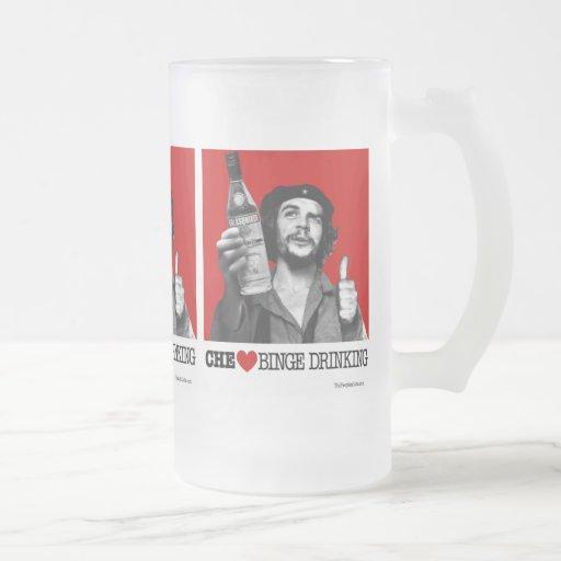 Taza de la consumición de Binge de Che Guevara