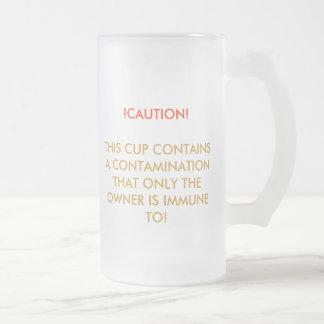 """Taza de la """"contaminación"""""""