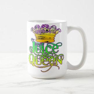 Taza de la corona de la reina del jugo