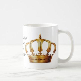 Taza de la corona de la reina Elizabeth