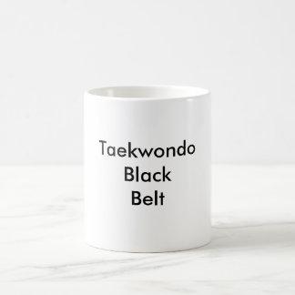 Taza de la correa negra del Taekwondo