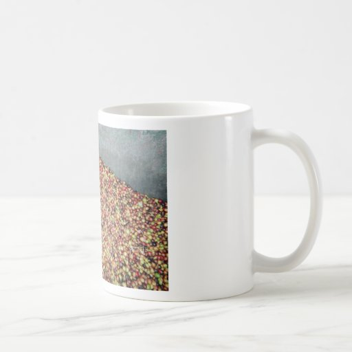 Taza de la cosecha del café