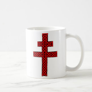 Taza de la cruz de Lorena del Celtic