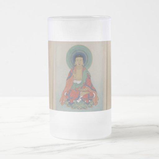 Taza de la cura Buda