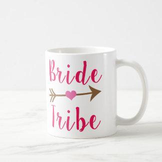 Taza de la dama de honor de la tribu de la novia