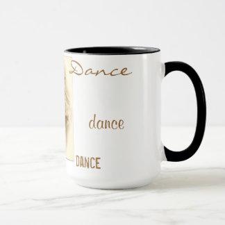 Taza de la danza de los bailarines de ballet del