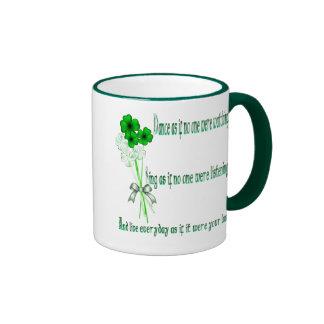 Taza de la danza del irlandés