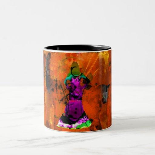 Taza de la danza del té