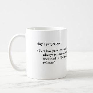 """""""Taza de la definición del proyecto del día 2"""""""