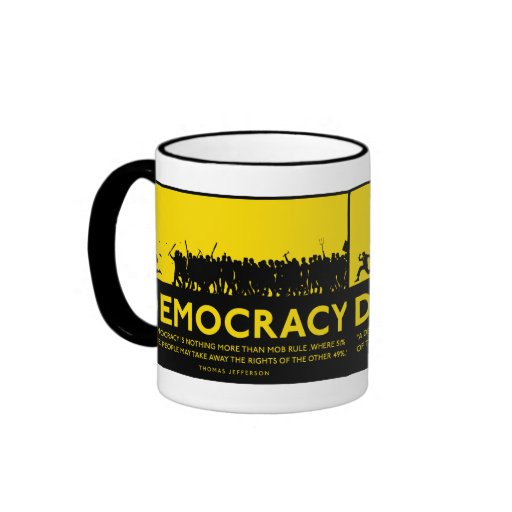 Taza de la democracia