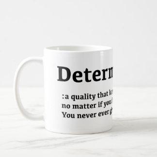 Taza de la determinación