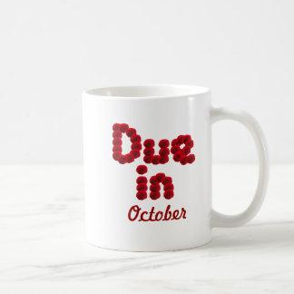 Taza de la deuda en octubre
