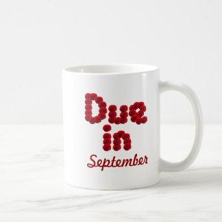Taza de la deuda en septiembre