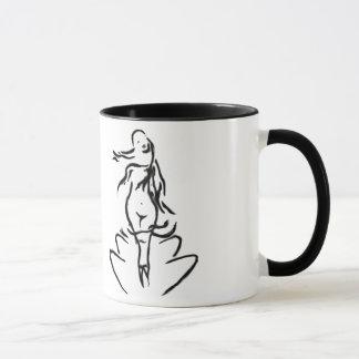 Taza de la diosa del Aphrodite de Venus/taza de