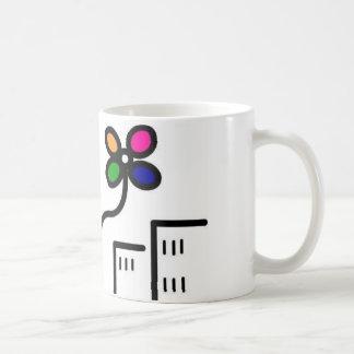 taza de la diversión de la flor de la calle