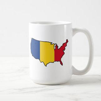 Taza de la Dos-Imagen: Rumano en los E.E.U.U.