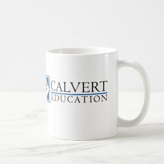 Taza de la educación de Calvert (blanca)