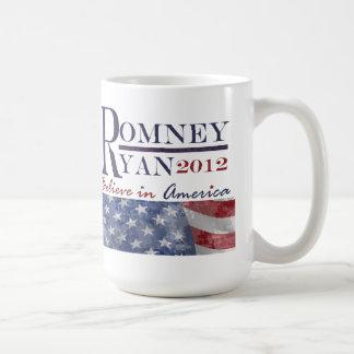 Taza de la elección 2012 de Romney Ryan