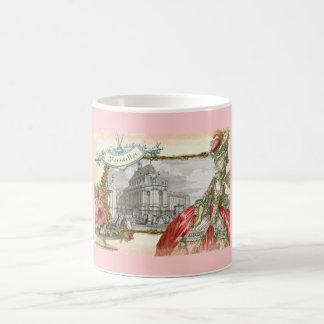 Taza de la elegancia de Versalles Marie Antonieta