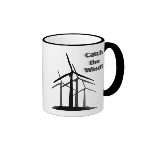 Taza de la energía eólica