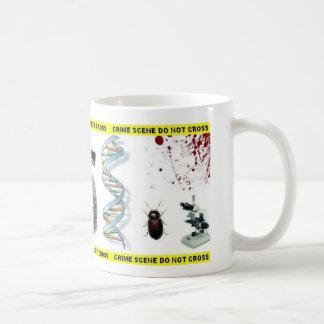 Taza de la escena del crimen