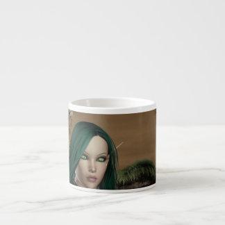 Taza de la especialidad de Elven Archer Taza Espresso
