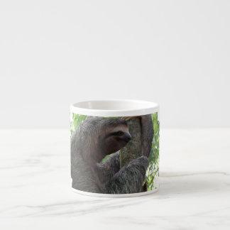 Taza de la especialidad de la pereza del árbol que tazas espresso