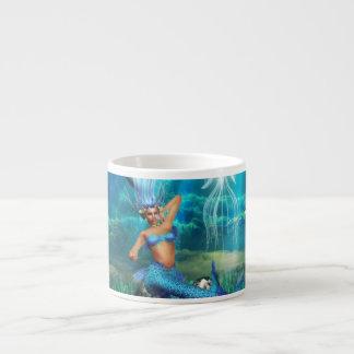 Taza de la especialidad de la sirena taza espresso