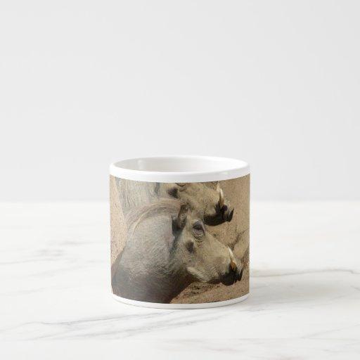 Taza de la especialidad de los pares de Warthog Tazita Espresso